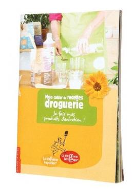 Carnet de recettes droguerie écologique