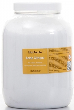 Acide citrique 1,80kg avec doseur offert