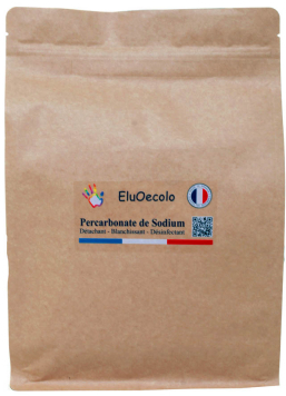 Percarbonate de sodium 3kg avec doseur offert - Kraft hermétique refermable