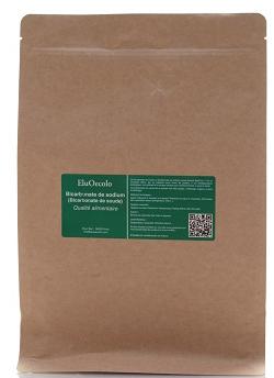 Bicarbonate de soude 3kg (qualité alimentaire) avec doseur offert - Doypack Kraft hermétique refermable