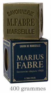 Savon de Marseille cube à l'Olive 400g (avec étui)