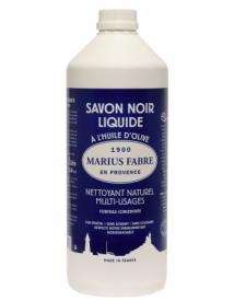 Savon noir liquide 1 litre savonnerie du Fer à Cheval