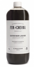 Savon noir liquide à l'huile d'olive 1 litre - Marius Fabre
