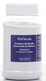 Cristaux de soude (ou carbonate de sodium) Boîte poudreuse 500g