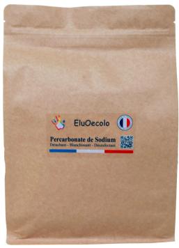 Percarbonate de sodium 3kg avec doseur offert - Doypack Kraft hermétique refermable
